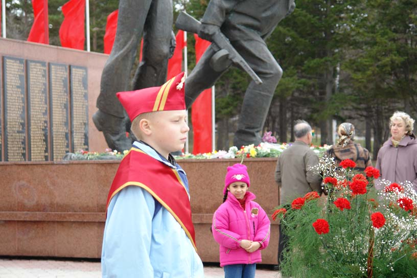Victory Day celebrations, Yuzhno-Sakhalinsk