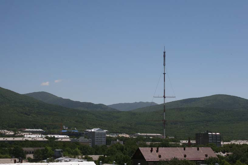 View of the mountains in Summer, Yuzhno-Sakhalinsk