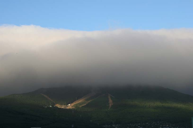 Low cloud, Yuzhno-Sakhalinsk