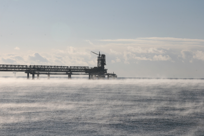 LNG Export Jetty, Prigorodnoye, Sakhalin Island