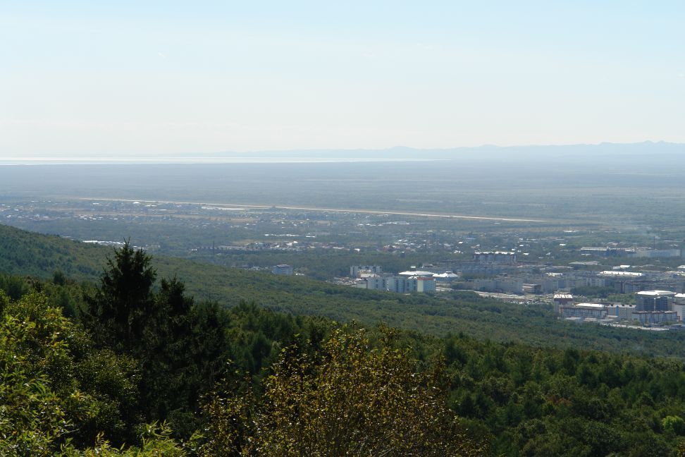 View of Yuzhno-Sakhalinsk