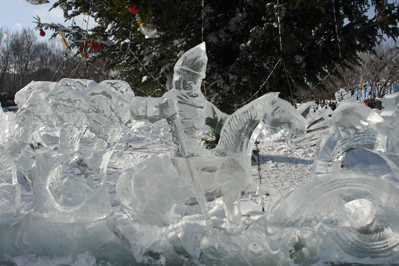 Ice Carvings, Yuzhno-Sakhalinsk