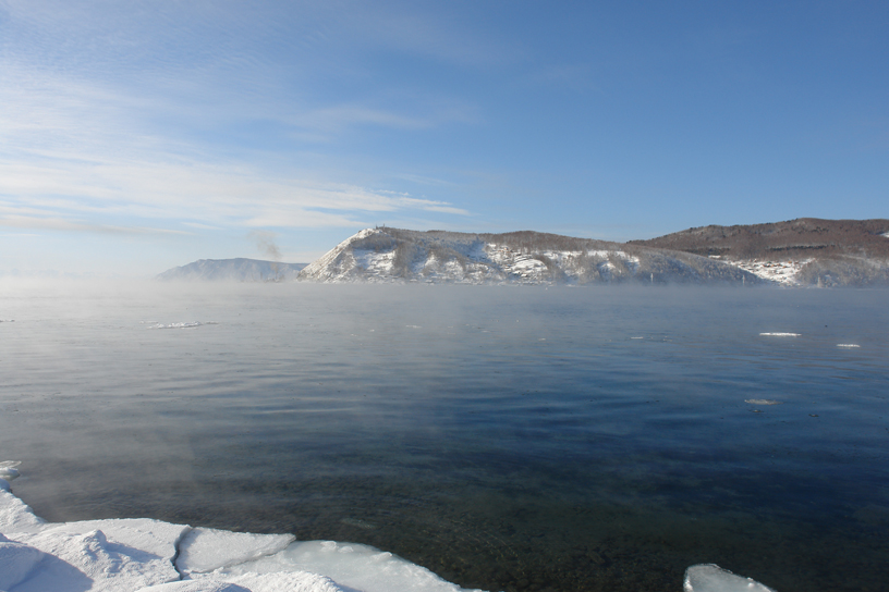Lake Baikal at Listvyanka