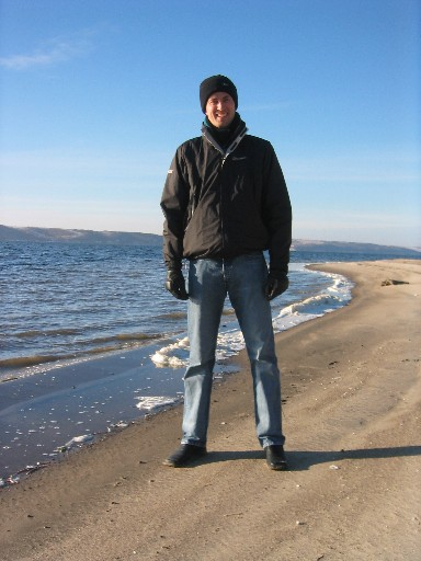 Tim on the Volga